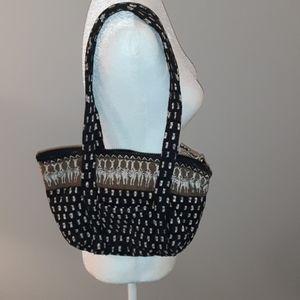 Vera Bradley zebra bag. Retired print